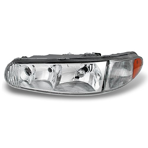 For 1997 1998 1999 2001 2002 2003 2004 2005 Buick Century | Regal Driver Left Side Headlight Headlamp