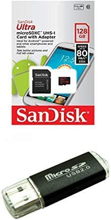 100MBs A1 U1 C10 Works with SanDisk SanDisk Ultra 128GB MicroSDXC Verified for Motorola Moto X Force by SanFlash