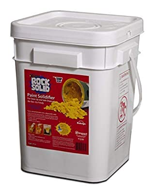 Rock Solid Paint Hardener, Pail with Scoop, 4 Gal.