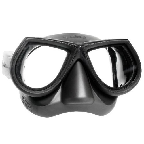 Mares Star Liquid Skin Spearfishing Mask, Black