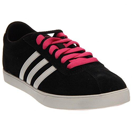 Le scarpe da ginnastica adidas neo courtset w, nucleo nero / bianco / rosa correre
