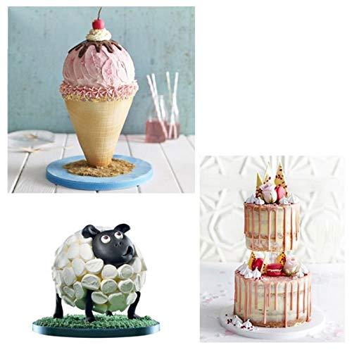 Cake Decorating Tools Anti-Gravity Cake Kit Multi Tiered Cake Stand Wedding Decoration Baking Tool Cake Tools by Monster* (Image #2)
