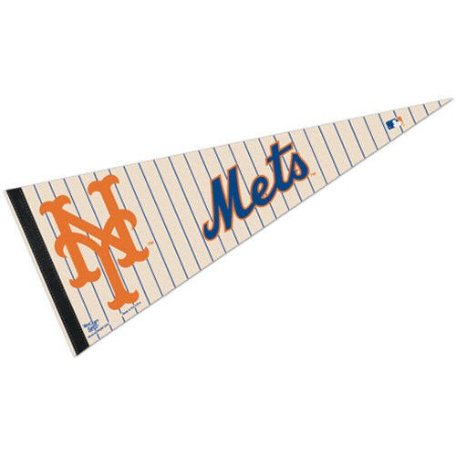 (WinCraft MLB New York Mets WCR63808012 Carded Classic Pennant, 12