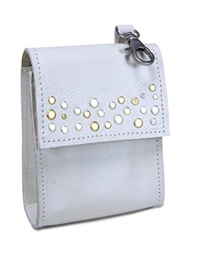 Kathy Ireland Loved Ones Gracie & Delilah Studded Clip-on Waste Bag Dispenser with Pocket & Grommet