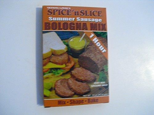 Grandma LaMure's Spice' N Slice Summer Sausage Bologna Mix (Sausage Italian Mix)