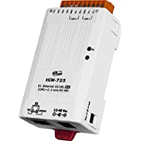 ICP DAS USA ICP-tGW-725 Compact Modbus TCP to Modbus RTU/ASCII gateway with PoE and 2 RS-485 Ports