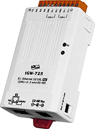Amazon com: ICP DAS USA ICP-tGW-725 Compact Modbus TCP to