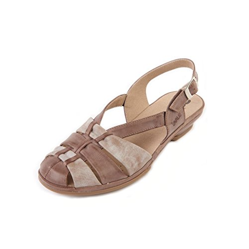 with Bark Mist Lightweight Suave 'Patsy' Beige Wide Sandal E Support Slip Sole Flexible Fit Women's Non qwO0H