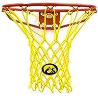 Krazy Netz University of Iowa Basketball Net in Black or Golden Yellow