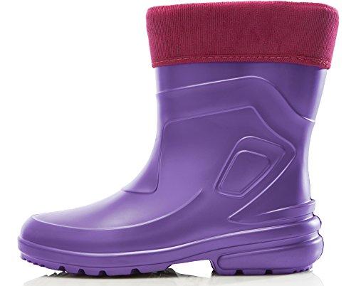 Rosa de LA Ladeheid Zapatos Botas Ligeras 2017 Seguridad Mujer Agua Lila 800 de Antideslizantes Muy f6BB5q