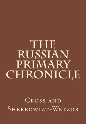 The Russian Primary Chronicle: Laurentian Text pdf epub