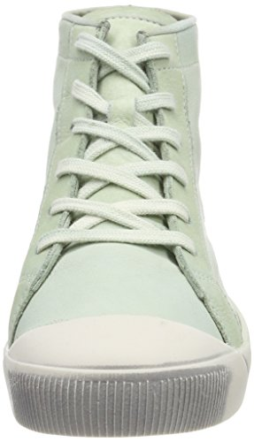 Green donna Kip448sof Sneakers Pastel Softinos Grün Washed da z1wx0gRq