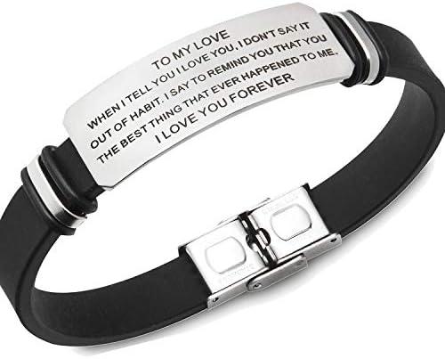 creatique Inspirational Bracelets Engraved Personalized product image