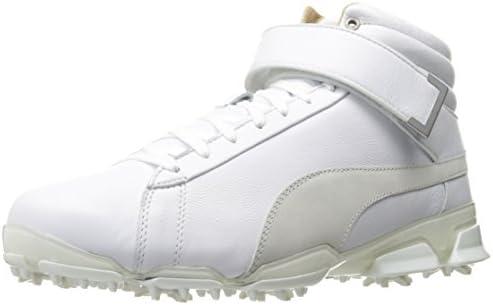 PUMA Golf Men's Titantour Ignite HI TOP SE Golf Shoe, White