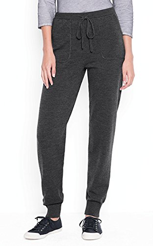 Orvis Women's Merino Track Pants, Charcoal, Medium by Orvis