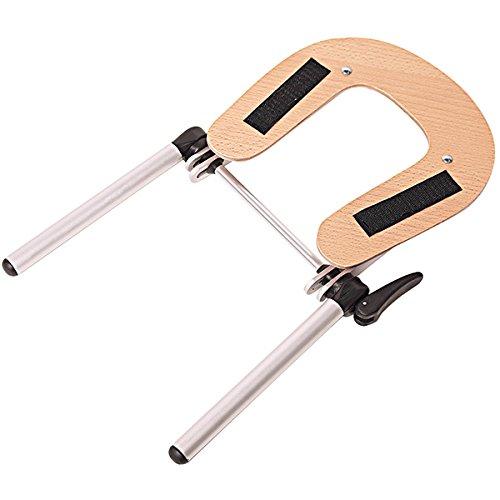 ForPro Aluminum Face Space Holder, Adjustable Headrest Cradle for Massage Tables