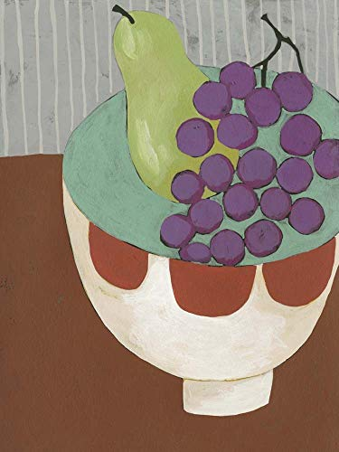 - Modern Fruit II by Chariklia Zarris Art Print, 12 x 16 inches