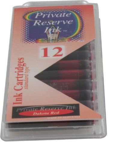 Private Reserve Ink Cartridges Dakota Red