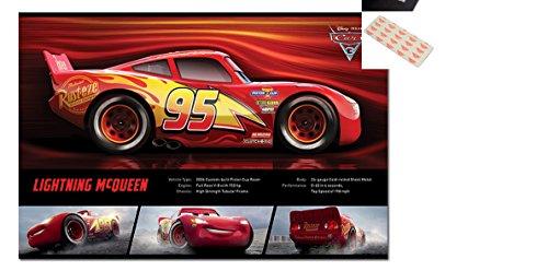 Cars 3 Lightning McQueen Stats Poster