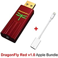 Apple Bundle for AudioQuest DragonFly Red USB DAC, Preamp, Headphone Amp and Apple Lightning to USB Camera Adapter