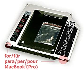 HDD/SSD SATA III Adaptador Compatible con MacBook y MacBook Pro ...