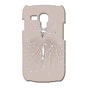 Samsung Galaxy S3 Mini Case,Hot Fashion Butterfly Fairy Girl Pattern Premium 3D Slim Hard Phone Cover for Samsung Galaxy S3 Mini