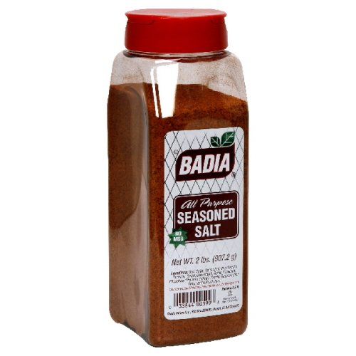 Badia Seasoned Salt, 2-pounds (Pack of 6)