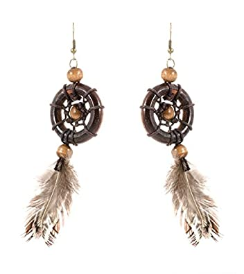 Buy Vincraft Dream Catcher Earrings Earring Online At Low Prices In Extraordinary Dream Catcher Earrings Online