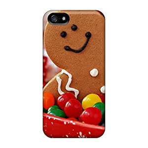 For LastMemory Iphone Protective Case, High Quality For Iphone 5/5s Christmas Sweets Skin Case Cover