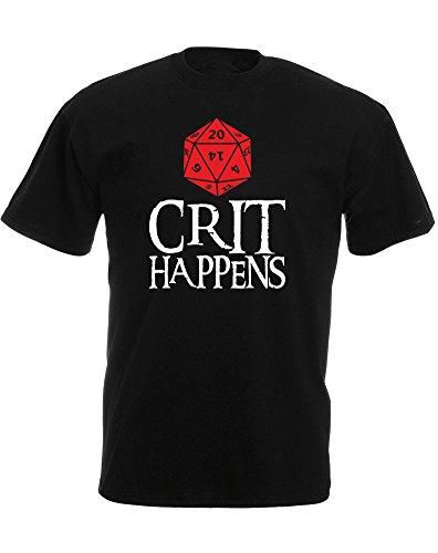 Crit Happens, Mens Printed T-Shirt