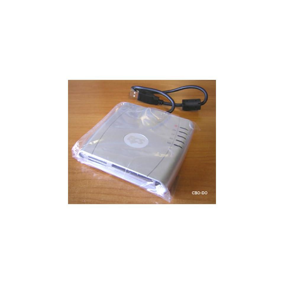 7 in 1 USB External Flash Memory Card Reader [CompactFlash I/II, MicroDrive, SmartMedia, SecureDigital, MultiMedia, Memory Stick and Memory Stick Pro] (Silver)