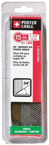 PORTER-CABLE PDA15150-1 1-1/2-Inch, 15 G - 1/2