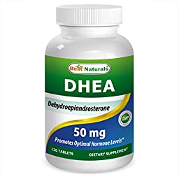 Best Naturals DHEA 50 mg 120 Tablets