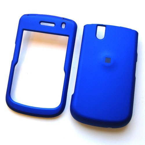 RIM BlackBerry Tour 9630 & Tour2 9650 Verizon/Sprint Rubberized Snap On Protector Hard Case Blue