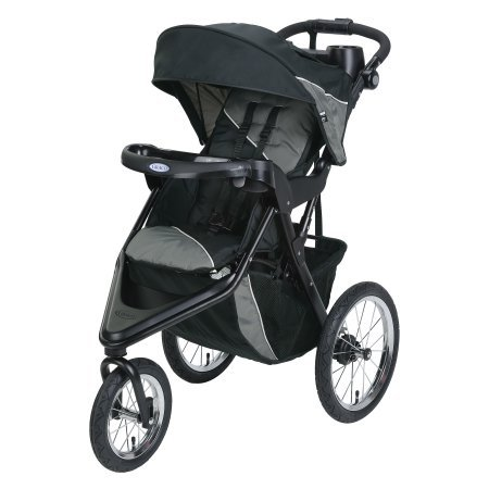 Graco Trax Jogger Click Connect Stroller, - Safety First Bike Trailer