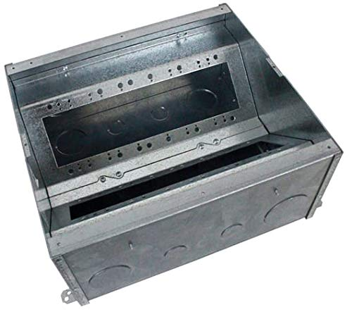 FSR FL-605P-6-B Floor Box