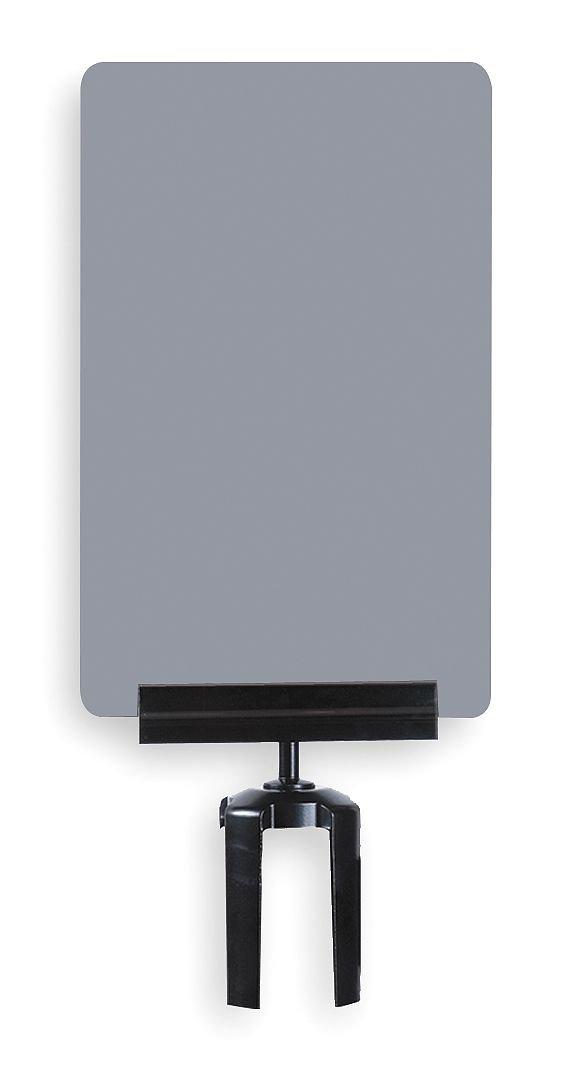 Tensator - S03-P-36-7X11-V-HDSB-1701-33 - Acrylic Sign, Gray ...