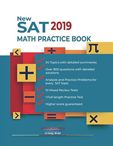 Math Practice Book - New SAT 2019 Math Practice Book