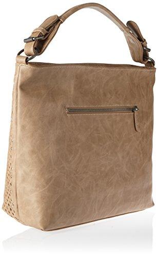 Fritzi aus Preußen Damen Haizea Business Tasche, 11x33x40 cm Braun (Lynx)