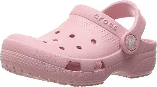 Crocs Kids Unisex Coast Clog (Toddler/Little Kid) Petal Pink 10 M US (Toddler Petal)