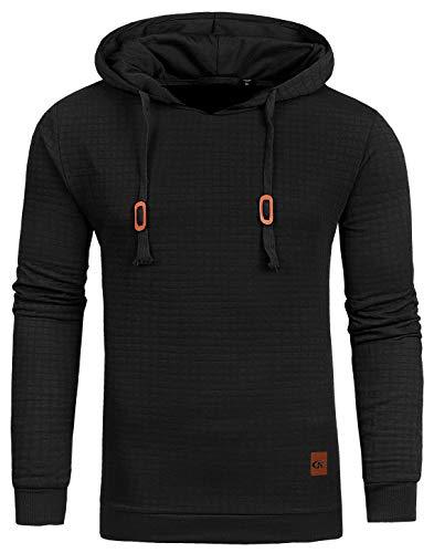 YuKaiChen Men's Casual Pullover Hoodies Long Sleeve Hooded Sweatshirts