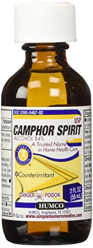 Humco Camphor Spirit, 2 Fluid (Pore Tightening Astringent)