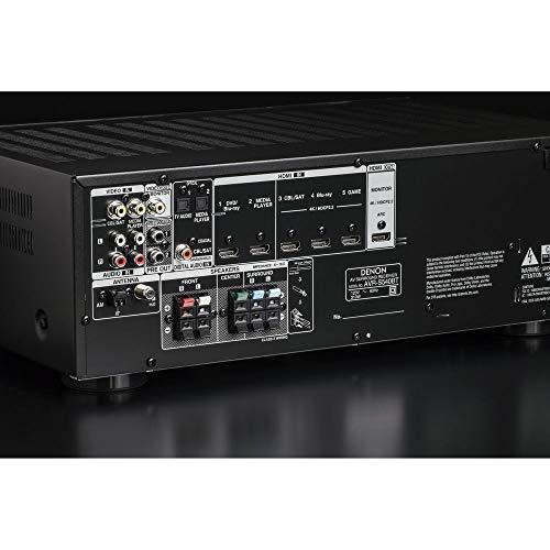Denon AV Receiver Audio & Video Component Receiver BLACK (AVRS540BT) (Renewed) by Denon (Image #3)