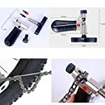 Sunshine-smile-Strumento-di-Riparazione-Biciclette-Kit-di-Riparazione-Biciclette-Attrezzi-Riparazione-Bici-Strumento-Rimozione-Cassetta-Bicicletta-Bike-Repair-Estrattore-Pedivella-per-Bicicletta
