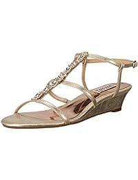 7da4bc35cf0 Amazon.com  Gold - Sandals   Shoes  Clothing