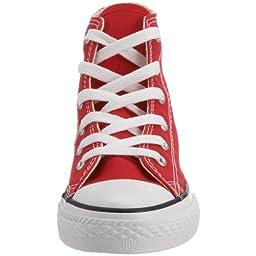 Converse Boys\' Youths Chuck Taylor Allstar Hi Red - 3 M US Little Kid