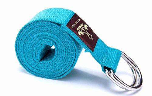 Heathyoga Yoga Strap US (Blue)