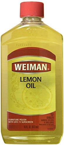 - Weiman Furniture Polish Lemon Oil 16 Oz (Pack of 6)