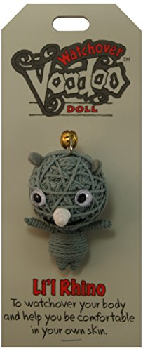 Watchover Voodoo Li'l Rhino Doll, One Color, One Size ()