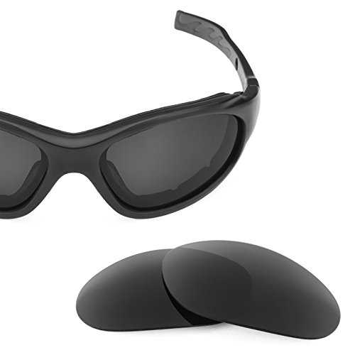 para de Advanced repuesto Sigiloso Elite Polarizados Lentes Wiley XL múltiples Negro — Opciones X 1 qRwBE